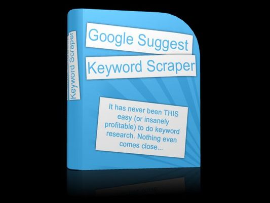 Product picture Google Keyword Scraper with Private Label Rights