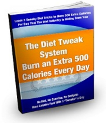 Product picture The Diet Tweak System with Master Resell Rights