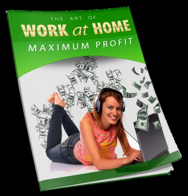 Product picture Work At Home For Maximum Profits with Private Label Rights