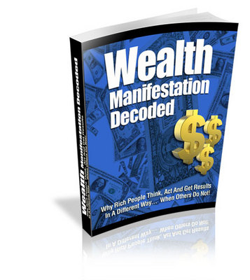 Product picture Wealth Manifestation Decoded with Private Label Rights