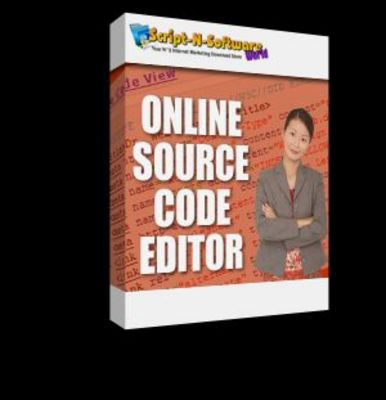 Product picture Online Source Code Editor With Master Resell Rights