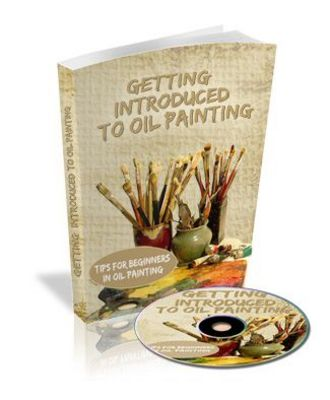 Product picture Getting Introduced to Oil Painting - Audio eBook with Master