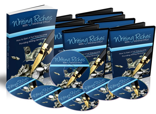 Product picture Writing Riches With Minimal Effort with Master Resell Rights
