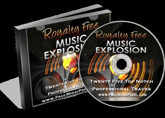 Product picture Royalty Free Music Explosion with Master Resell Rights