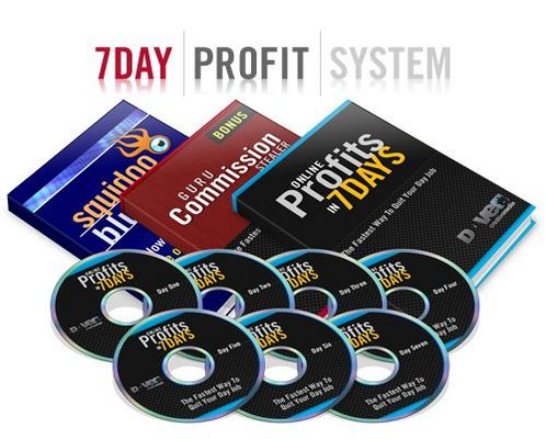 Product picture 7 Day Profit System With Master Resell Rights