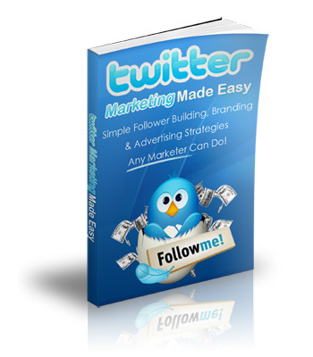 Product picture Twitter Marketing Made Easy with Private Label Rights