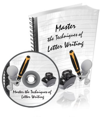 Product picture Master The Techniques Of Letter Writing with Master Resell R