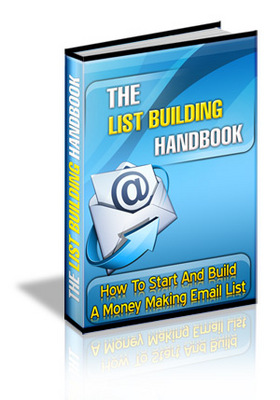 Product picture List Building Handbook with Master Resell Rights